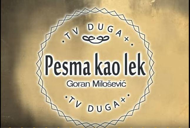 PESMA KAO LEK U UTORAK 9. APRIL